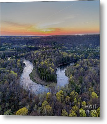 Manistee National Forest Metal Prints