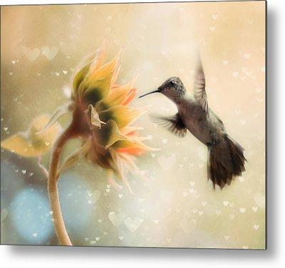 Hummingbird Metal Prints