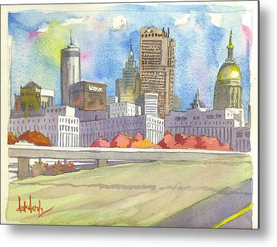 Cities Metal Prints