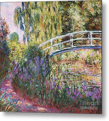 Monet Water Lilies Metal Prints