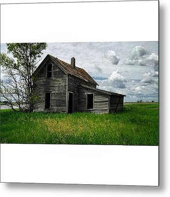 Country House Metal Prints