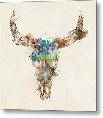 Bull Metal Prints