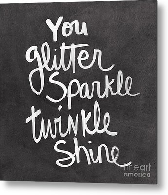 Sparkle Metal Prints