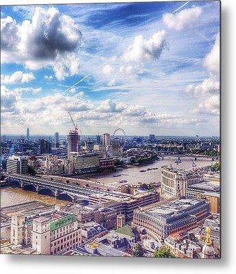 London Skyline Metal Prints