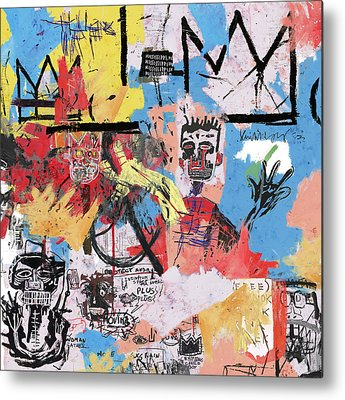 Basquiat Metal Prints