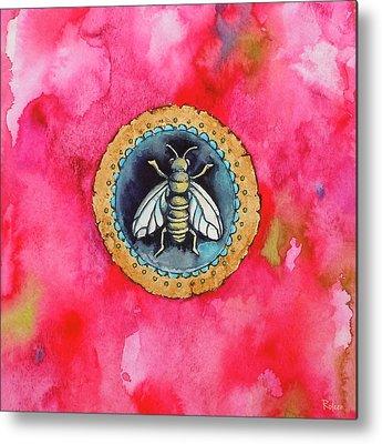 Bees Metal Prints