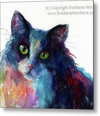 Feline Metal Prints
