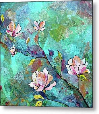 Magnolia Metal Prints