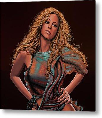 Mariah Carey Metal Prints
