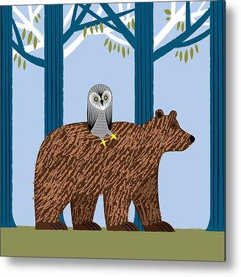 Bear Lake Metal Prints