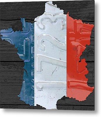France Metal Prints