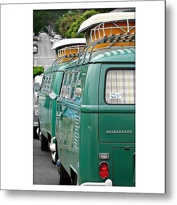 Volkswagen Bus Metal Prints