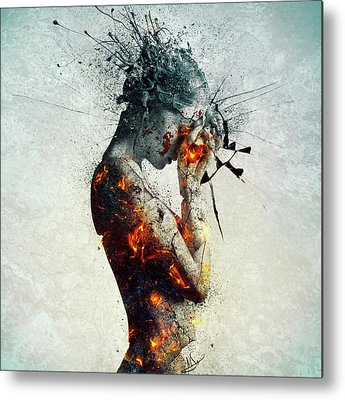 Surrealism Metal Prints