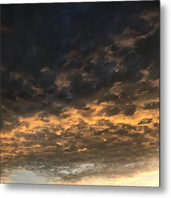 Storm Cloud Metal Prints