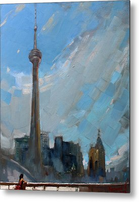 Cn Tower Metal Prints