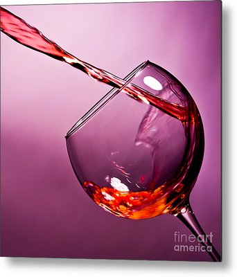 Wine Metal Prints
