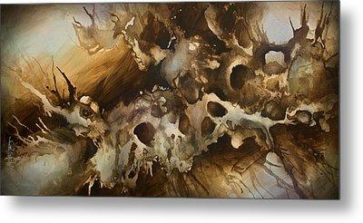 ' Visions' Metal Print by Michael Lang