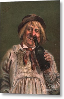 1890s Uk Expressions Smell Drunks Metal Print by The Advertising Archives