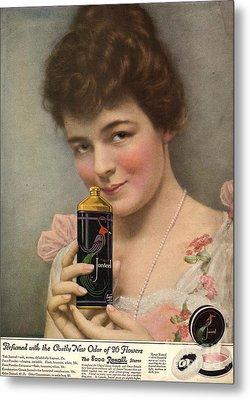 1910s Usa Talc Talcum Powder Jonteel Metal Print by The Advertising Archives