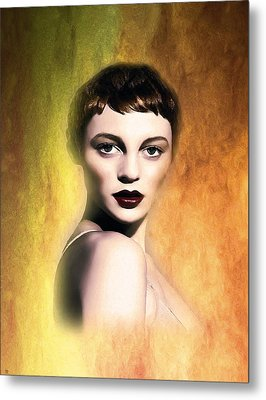 A Portrait Of Isabella Metal Print