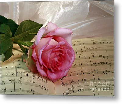 A Tribute To Diana Ross The Rose Metal Print by Inspired Nature Photography Fine Art Photography