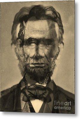 Abraham Lincoln Metal Print by Michael Kulick