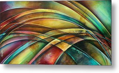 ' Abstract ' L1 Metal Print by Michael Lang