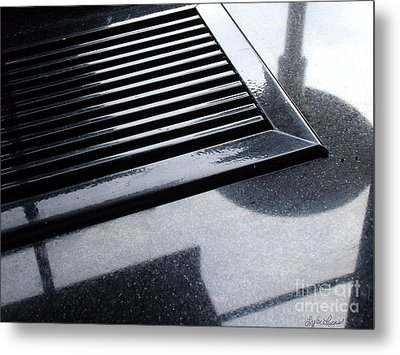 Metal Print featuring the photograph  Abstract Reflection by Lyric Lucas
