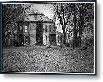 An Old Homestead Metal Print