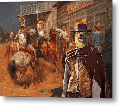 Australian Cattle Dog Art Canvas Print Metal Print by Sandra Sij