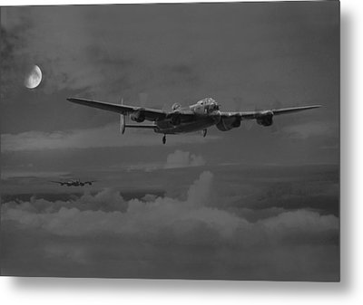 Bomber's Moon Metal Print by Pat Speirs