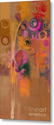 Bubble Tree - Lw91 Metal Print by Variance Collections