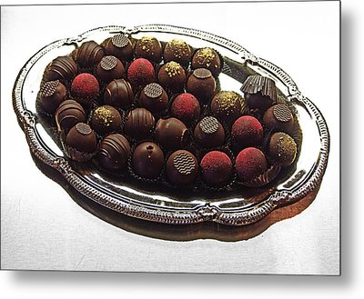 Chocolates Metal Print by David Pantuso