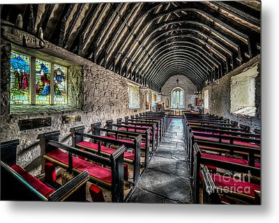 Church Of St Mary Metal Print by Adrian Evans