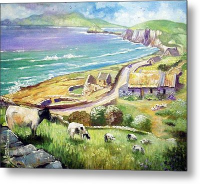 Dingle Co Kerry Ireland Metal Print by Paul Weerasekera