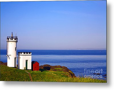 Elie Lighthouse Metal Print by Craig B