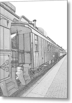 Metal Print featuring the photograph  Engineer Perspective by Mary Beth Landis