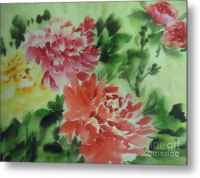Flower 0727-1 Metal Print by Dongling Sun