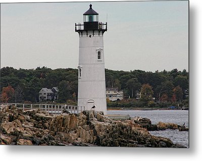 Fort Constitution Light Metal Print