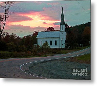God's Country Metal Print by Christian Mattison