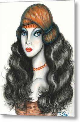 Gypsy Metal Print