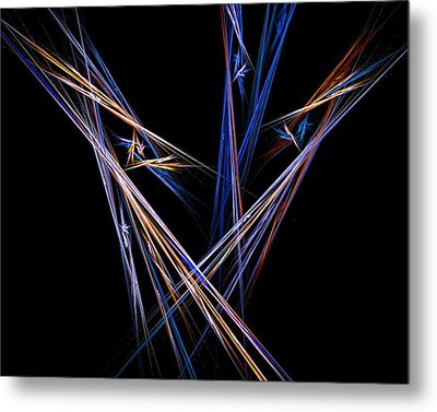 Metal Print featuring the digital art  Harvest by R Thomas Brass