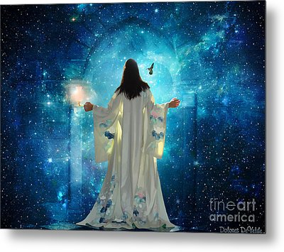 Heavens Door Metal Print