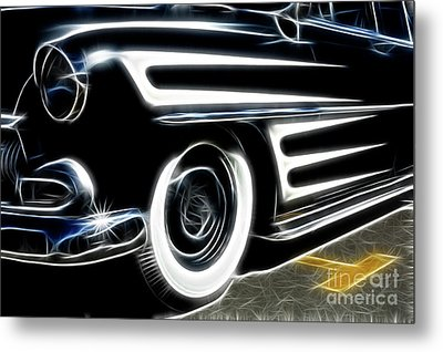 Hot Rod Ready To Rumble Metal Print by Bob Christopher