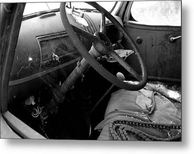 Metal Print featuring the photograph  Interiors Past by Randy Pollard
