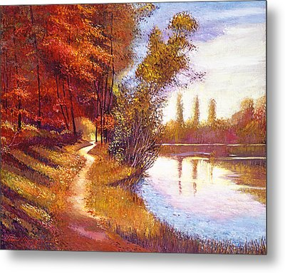 Lakeside Colors Metal Print
