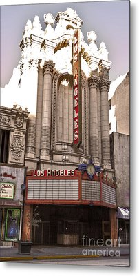 Los Angeles Theater Metal Print by Gregory Dyer
