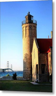 Mackinac Old Lighthouse. Metal Print