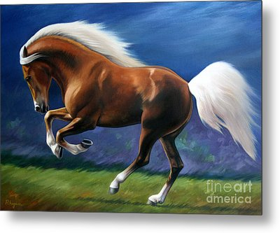 Magnificent Power And Motion Metal Print