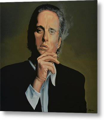 Michael Douglas Metal Print by Paul Meijering